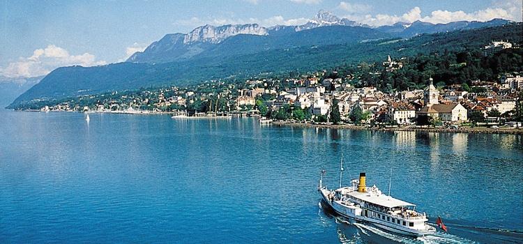 Séjour la Vallée Verte, côté Léman et côté Suisse
