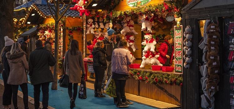 Marché de Noël des Alpes à Annecy en groupes