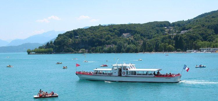 Week-end pont au bord du lac d'Annecy en groupe