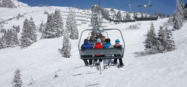 Séjours ski en janvier en groupe à Valloire