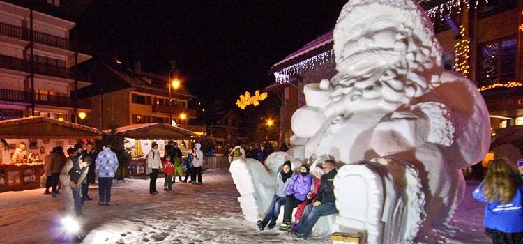 Fêtez Noël au ski en groupe à Valloire
