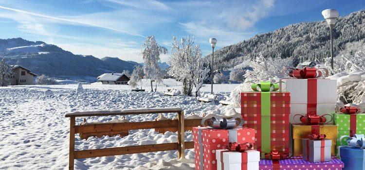 Séjour de Noël à la montagne dans les Alpes du Léman