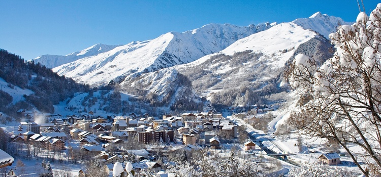 Semaine du Nouvel An en station de ski pour les groupes à Valloire