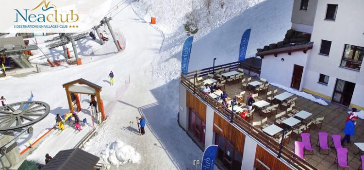 Séjours ski en groupe à Valmeinier