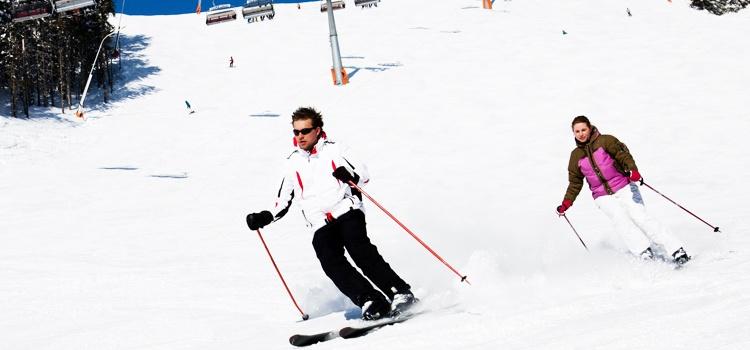 Nouvel an au ski à Valmeinier au cœur du domaine skiable