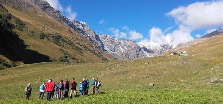 Séjour randonnées à la Pulka Galibier à Valloire
