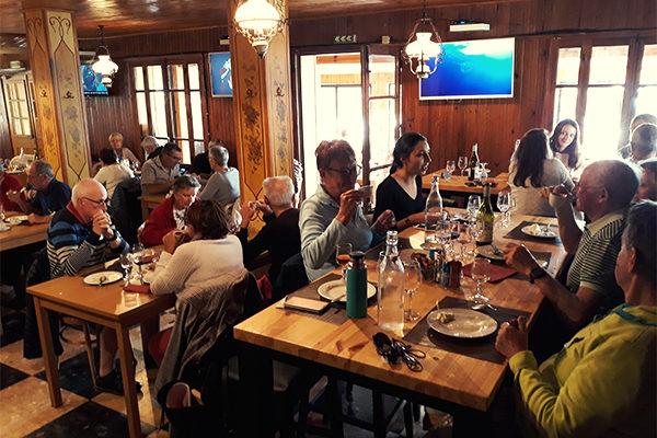 repas au village vacance de néaclub à la Drôme provence