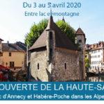 [Reporté] Eductour à Annecy en Haute-Savoie et dans les Alpes du Léman