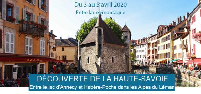 Eductour en Haute Savoie en Avril 2020