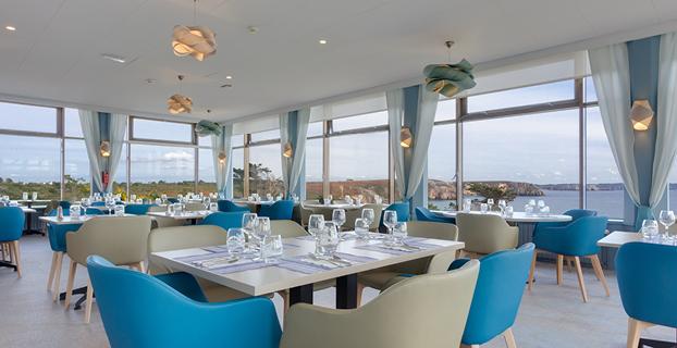 Restaurant avec vue sur la Mer d'Iroise