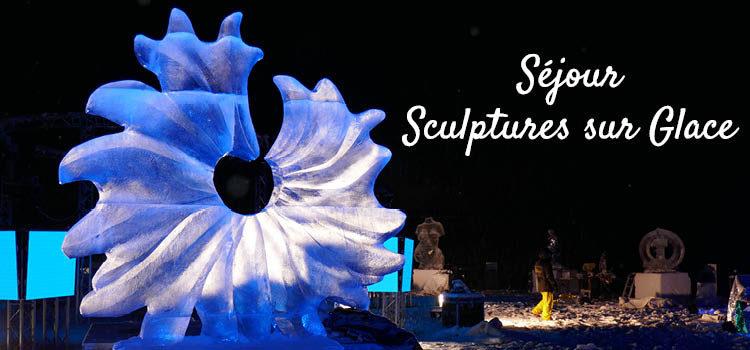 Séjour Sculptures sur glace et neige à Valloire