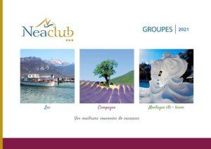brochures Séjours Groupes Neaclub Lac Campagne Montagne