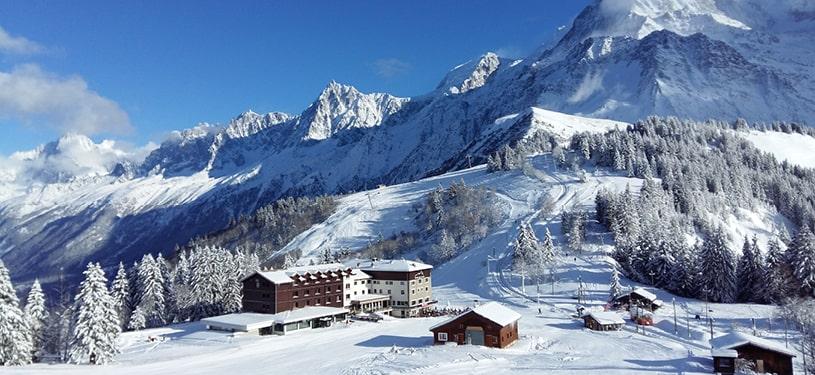 Col de Voza Saint Gervais Mont Blanc