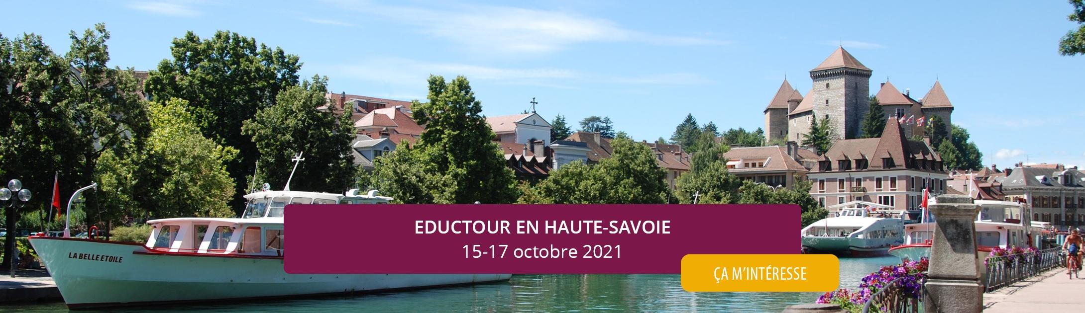 Eductour en Haute Savoie en octobre 2021